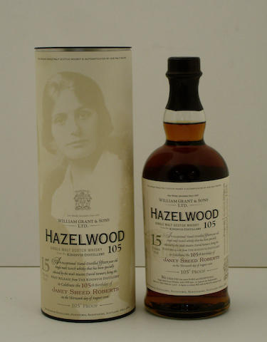 Hazelwood 105-15 year old