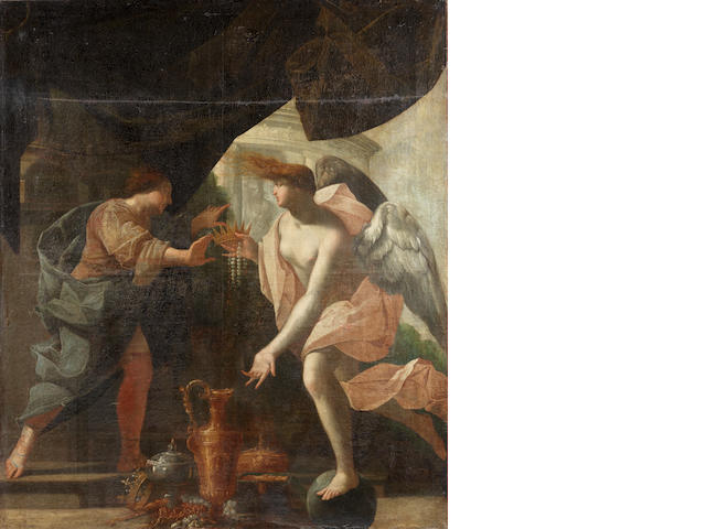Circle of Nicolas Chapron, or Chaperon (Châteaudun 1612-circa 1656) An Allegory of Temperance