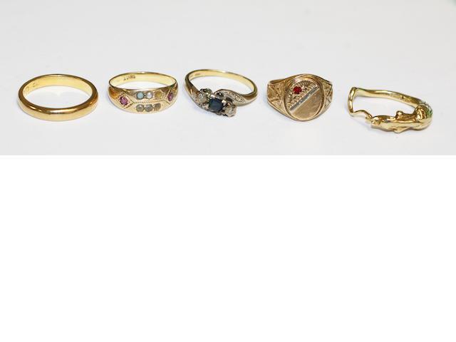 Five rings,