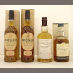 Knockando-1979<BR /> Knockando-1984<BR /> The Balvenie Single Barrel-15 year old-1979<BR /> Dalwhinnie Centenary-15 year old