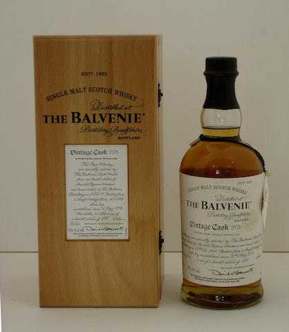 The Balvenie Vintage Cask-1978