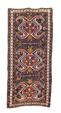 A Karabagh long rug, South Caucasus, 299cm x 138cm