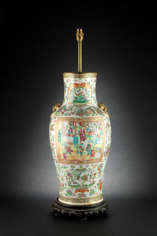 Two Canton famille rose wares Qing Dynasty