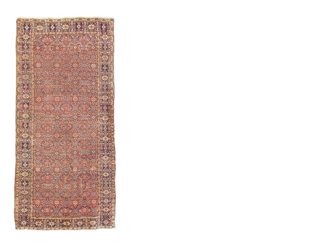 A Feraghan khelleh, West Persia, 485cm x 230cm reduced in size