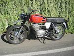 1969 Moto Guzzi 125cc Stornello Scrambler Frame no. T65MI