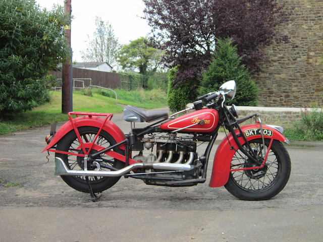 1935 Indian 1200cc Four Engine no. DCE171B