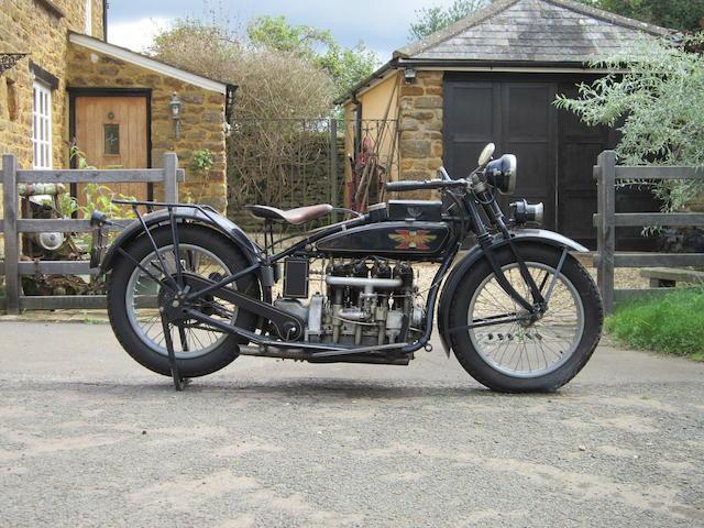 1925 Henderson 1200cc 4-cylinder De Luxe