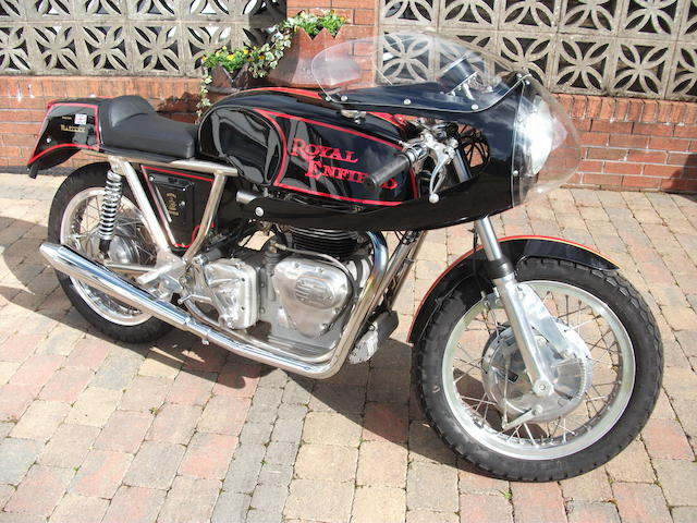 2001 Royal Enfield 750cc Metisse Series 2 Interceptor Rickman Replica Frame no. MRD99057 Engine no. 1B1478