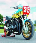 The ex-Graeme Crosby,1978/79 Moriwaki Kawasaki 1,100cc TT Formula 1 Racing Motorcycle,