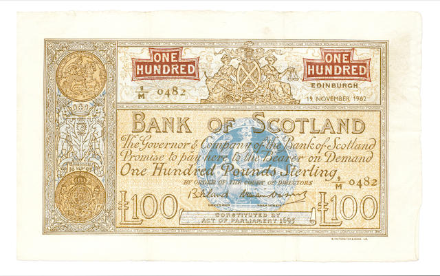 Bank of Scotland,