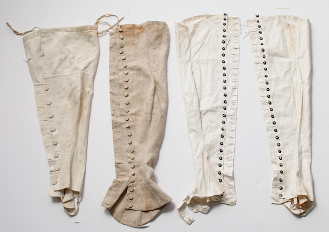 Spatterdashes, late 18th to early 19th Century