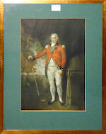 Collective prints, an interiorafter Morland, before the hunt after Ward, two coaching prints, a hunt print, a mezzotine wit figures and three modern golfing prints (9)