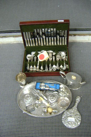 Collective Silver and Plated wares