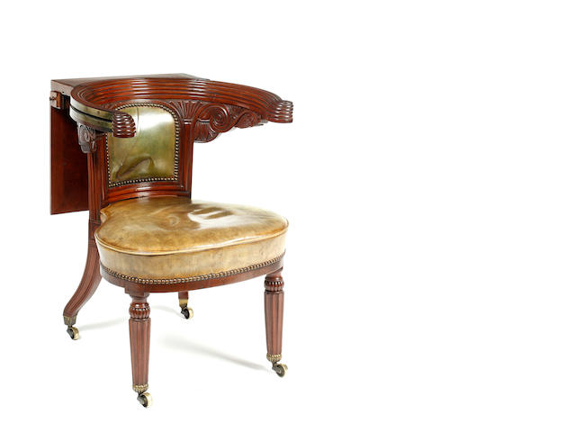 George IV reading chair
