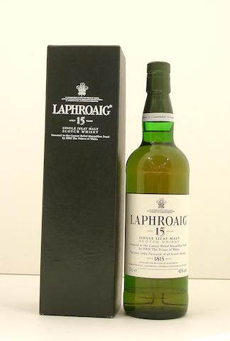 Laphroaig Cancer Relief Macmillan-15 year old