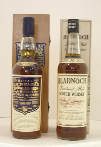 Royal Lochnagar Selected Reserve<BR /> Bladnoch-8 year old
