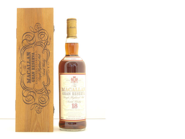 The Macallan Gran Reserva-18 year old-1980