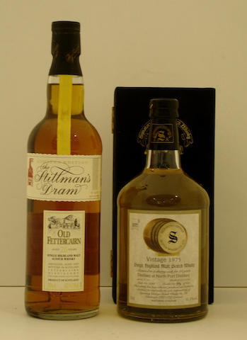 Fettercairn-26 year old<BR /> North Port-24 year old-1975