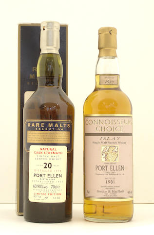Port Ellen-20 year old-1978<BR /> Port Ellen-1981