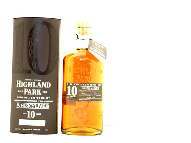 Highland Park Whisky Live 2010-10 year old