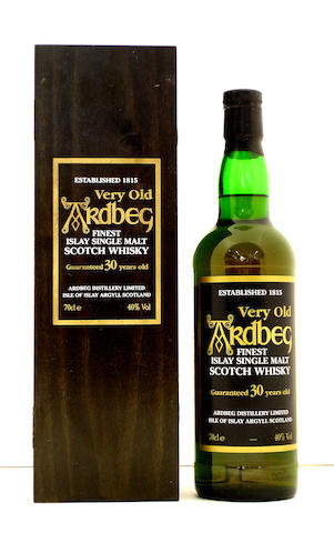 Ardbeg Guaranteed-30 year old