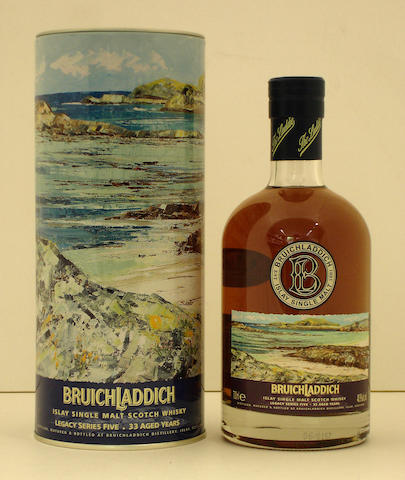 Bruichladdich Legacy Series 5-33 year old