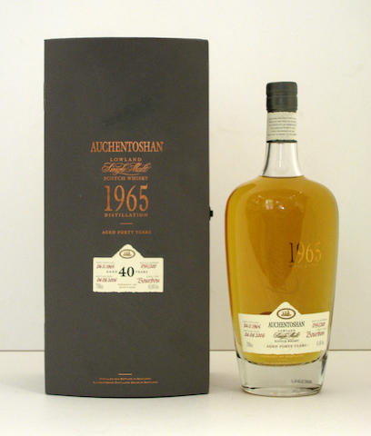 Auchentoshan-40 year old-1965