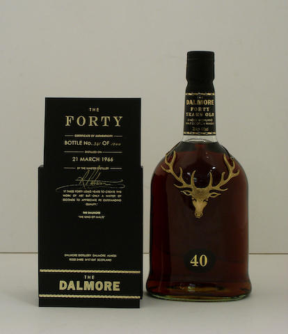 Dalmore-40 year old-1966