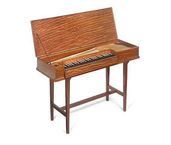 A Clavichord by Arnold Dolmetsch, Haslemere 1937 (1)