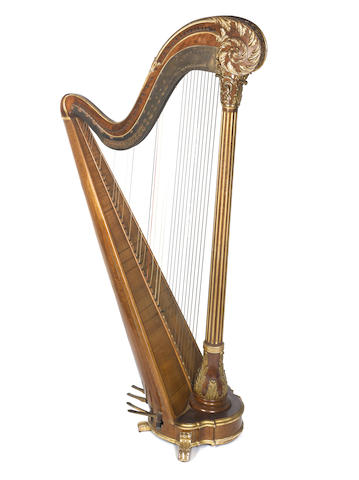 A Belle Epoque Concert Chromatic Harp by Erard, (2)