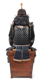 A composite armour Mid Edo Period, 17th-18th century