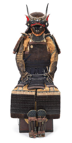 A hotoke do tosei gusoku armour Edo Period, 17th-18th century