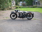 The ex-C E 'Titch' Allen,1930 Brough Superior 981cc SS80 De Luxe 'Black Bess'  Frame no. D983 Engine no. KTCY/W 84306/S
