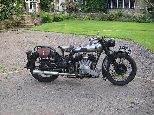 1930 Brough Superior SS-80