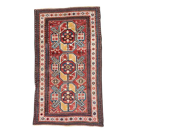 A Kazak rug, Central Caucasus, 232cm x 134cm