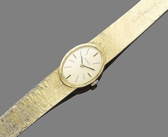A wristwatch, by Gübelin