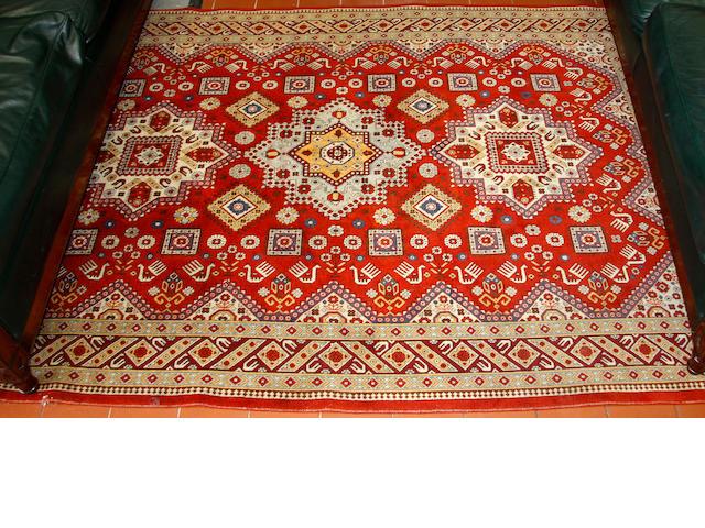 A Shirvan style rug, Azerbaijan, 224 x 152cm.