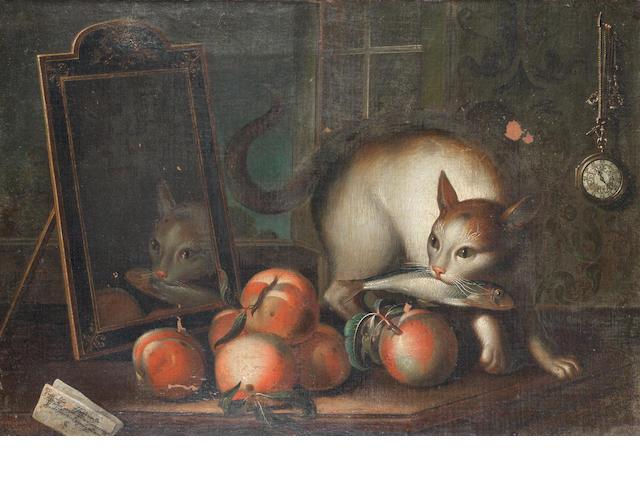 Sebastiano Lazzari (Verona 1730-circa 1795 Venice?) 'Caught in the act'