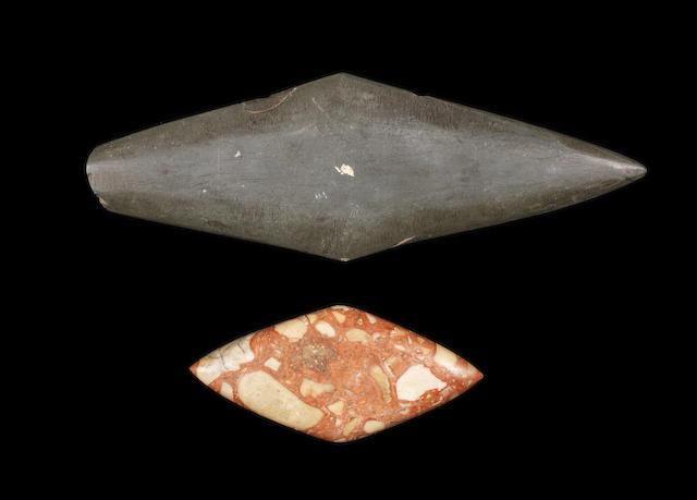 Two Egyptian Predynastic stone palettes 2