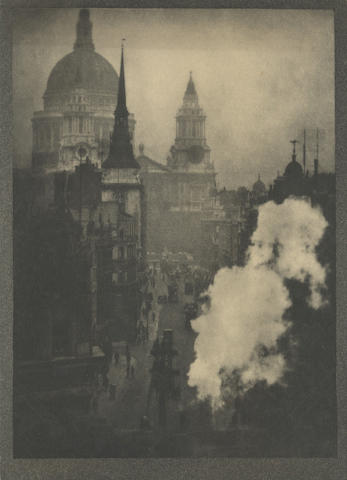 PHOTOGRAPHY. COBURN (ALVIN LANGDON) A group of 12 loose views from <i>London</i>, Ballantyne, [1909](13)