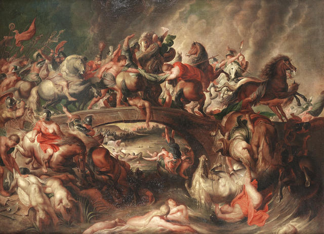 After Sir Peter Paul Rubens, circa 1800 The Battle of the Amazons