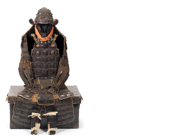 A karuta gane tatami gusoku armour Late Edo Period, 19th century