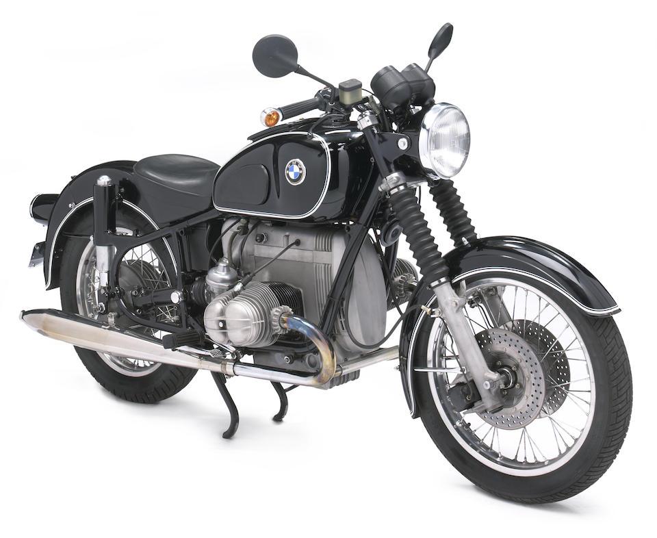 Bonhams : Powered by an R100/7 motor,1967 BMW 980cc R60/2