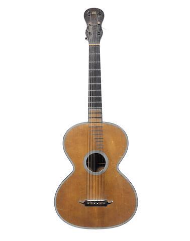 A French Guitar by Rene Lacote, Paris, 1827 (1)