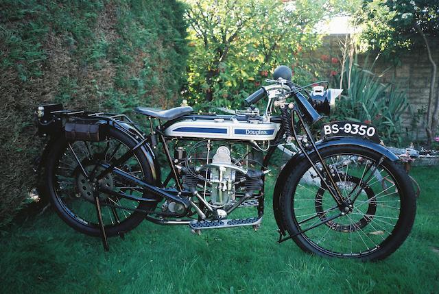 1925 Douglas 350cc CW Frame no. CF 756 Engine no. 86957