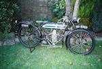 1924 Douglas 350cc CW Frame no. CF756 Engine no. 86957