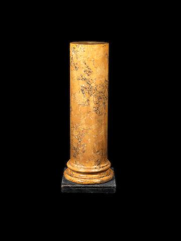 Sienna marble column
