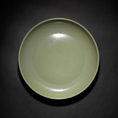 A celadon dish