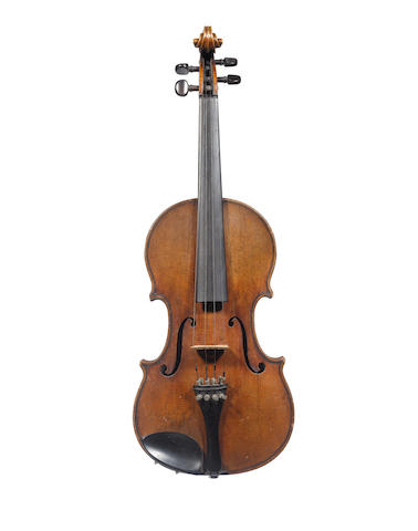 A George Craske violin and two bows