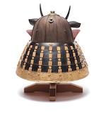 A kaga suji kabuto (helmet) By Kojima Munenao, mid Edo Period, 18th century